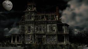 Casa frequentata Fotografia Stock