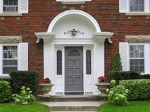 Casa Front Door Fotografía de archivo libre de regalías
