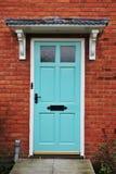 Casa Front Door Foto de Stock