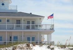 Casa fronte mare elegante Immagine Stock Libera da Diritti