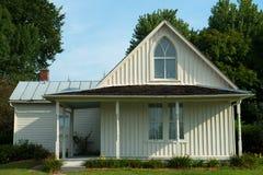 Casa gótico americana, marco da casa da quinta fotos de stock