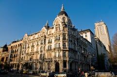 Casa Gallardo Building in Madrid, Spain. Stock Photography