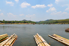 Casa galleggiante di stagione Fotografia Stock Libera da Diritti