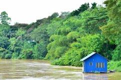 Casa galleggiante di Tipical Fotografia Stock Libera da Diritti