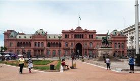 Casa general Rosada la Argentina de Belgrano Fotos de archivo