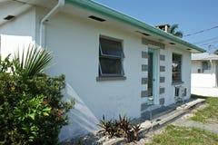 Casa generica della Florida degli anni 50 Fotografia Stock