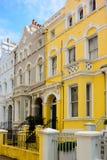 Casa gialla immagini stock libere da diritti