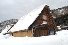 Casa giapponese dell'azienda agricola Fotografie Stock