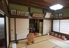 Casa giapponese tipica Fotografie Stock Libere da Diritti