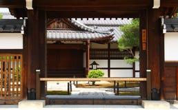 Casa giapponese tradizionale Fotografia Stock Libera da Diritti
