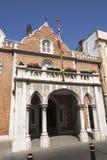 Casa Gibraltar del gobierno Foto de archivo