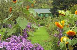 Casa in Giverny, Francia del Claude Monet Immagini Stock Libere da Diritti