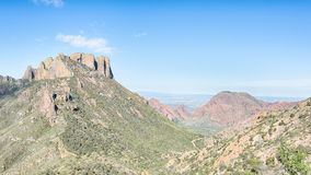 Casa Grande, Chisos Mountains Basin, Big Bend National Park, TX Stock Photography