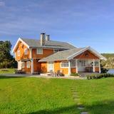 Casa grande da família (quadrado) Imagem de Stock Royalty Free
