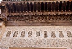 Casa grande del adorno decorativo, Marruecos Imágenes de archivo libres de regalías