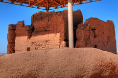 Casa Grande National Monument Royalty Free Stock Photography