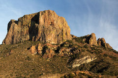 Casa Grande. Peak in Big Bend National Park, Texas stock photography