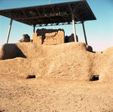 Casa Grande ruïneert Nationaal Monument royalty-vrije stock foto