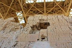 Casa Grande ruin Krajowy zabytek Arizona Zdjęcie Royalty Free