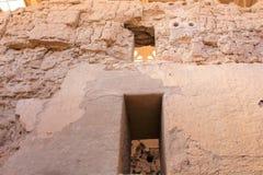 Casa Grande ruin Krajowy zabytek Arizona Zdjęcia Stock
