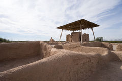 Casa grande ruins arizona Stock Image