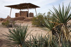 Casa grande ruins arizona Royalty Free Stock Photography
