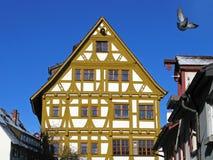 Casa a graticcio in Ulm, Germania Fotografia Stock