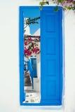 Casa greca tradizionale sull'isola di Mykonos Fotografie Stock Libere da Diritti