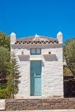 Casa greca tradizionale sull'isola di Sifnos Immagine Stock