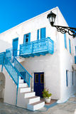 Casa greca tradizionale sull'isola di Sifnos Immagini Stock