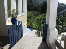 Casa grega Foto de Stock