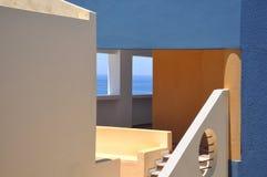Casa grega Fotografia de Stock Royalty Free