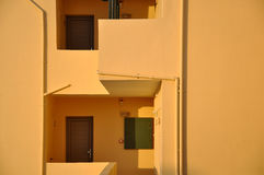 Casa grega Imagens de Stock Royalty Free