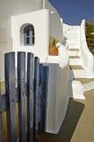 Casa griega fotografía de archivo libre de regalías