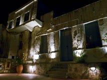 Casa griega vieja en Naxos Fotos de archivo