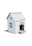 Casa gris del juguete Fotografía de archivo libre de regalías