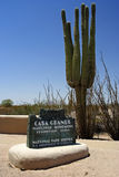 Casa-große Ruine-nationales Denkmal stockfotos