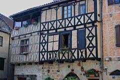 Casa Half-timber Foto de archivo