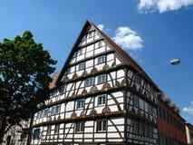 Casa Half-timbered Immagine Stock