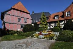 Casa Half-timbered Imagen de archivo libre de regalías