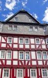 Casa Half-timbered fotografía de archivo libre de regalías