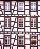Casa Half-timbered Fotos de archivo libres de regalías