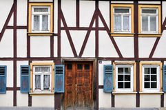 Casa Half-timbered Fotografia de Stock Royalty Free