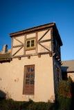 Casa Half-Timbered tradicional imagem de stock royalty free
