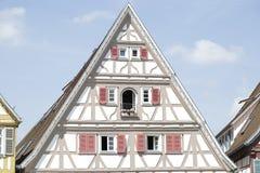 Casa Half-Timbered tradicional Fotos de Stock Royalty Free