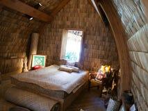 Casa havaiana original dos nativos Imagem de Stock Royalty Free