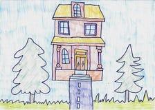 Casa hecha a mano foto de archivo