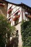 Casa hermosa en Europa Imagen de archivo libre de regalías