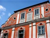 Casa histórica Imágenes de archivo libres de regalías