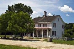 Casa histórica americana adiantada Fotografia de Stock Royalty Free